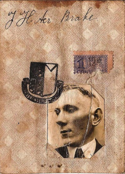 Identiteitskaart Johan ter Brake Tilligte