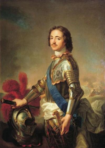 Peter Aleksejevitsj Romanov (Tsaar Peter de Grote) Tsaar van Rusland van 1682-1725