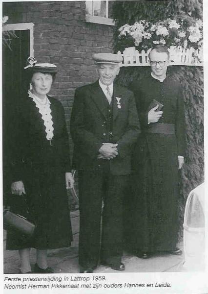Pikkemaat Herman priesterwijding 1959