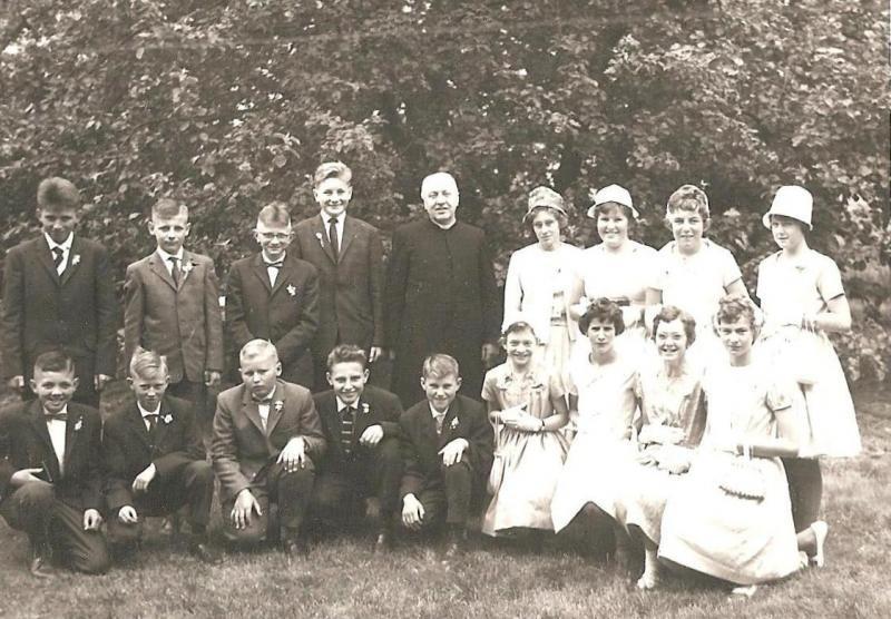 Plechtig aannemen Lattrop ca. 1961-1962