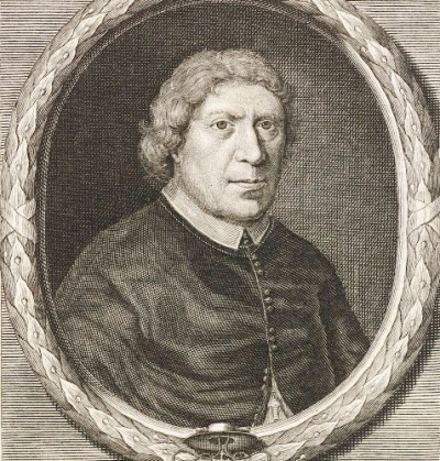 Portret van aartsbisschop Petrus Codde door Pieter van Gunst