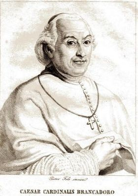 Portret van Cesare Brancadoro, graaf van Lignano