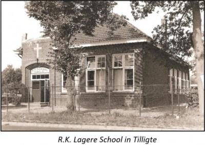 R.K. Katholieke lagere school in Tilligte