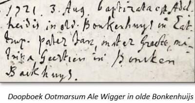 RC doopboek Ootmarssum 3-8-1721
