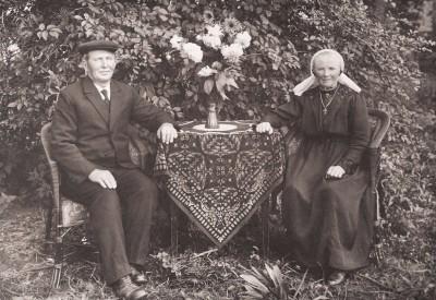 Reerink Johannes Hendrikus 1872-1941 en Johanna Susanna Holtwijk 1875-1941 Foto 1928