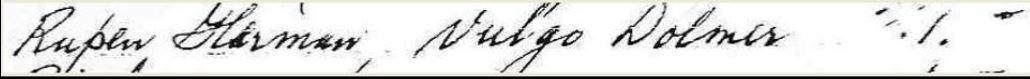 Rupen Harmen Vuurstedenregister 1675