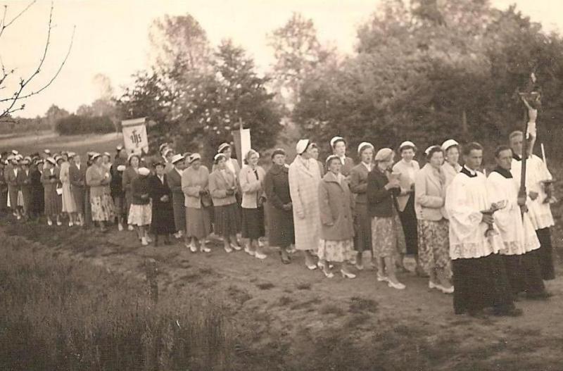 Sacramentsprocessie 1957