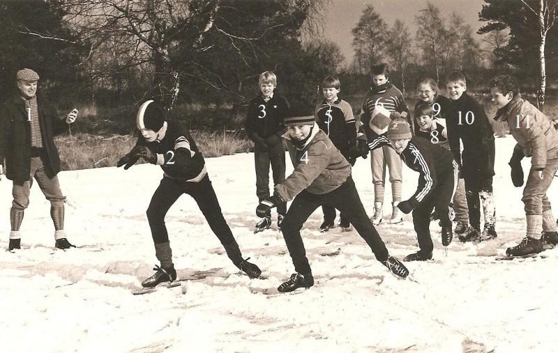 Schaatsen op De Bergvennen 1986…