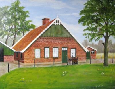 Schilderij boerderij Gosinksbaks nu Fox Lattrop