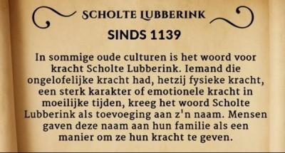 Scholte Lubberink sinds 1139