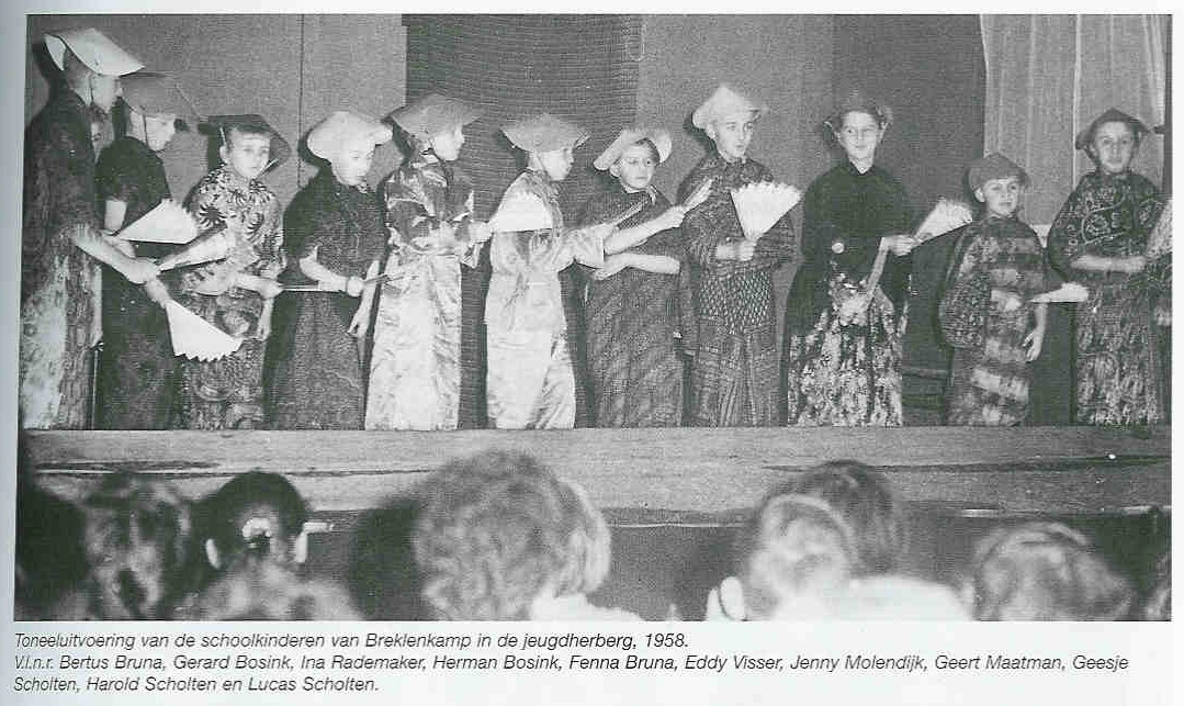 School Breklenkamp Toneel Jeugdherberg 1958