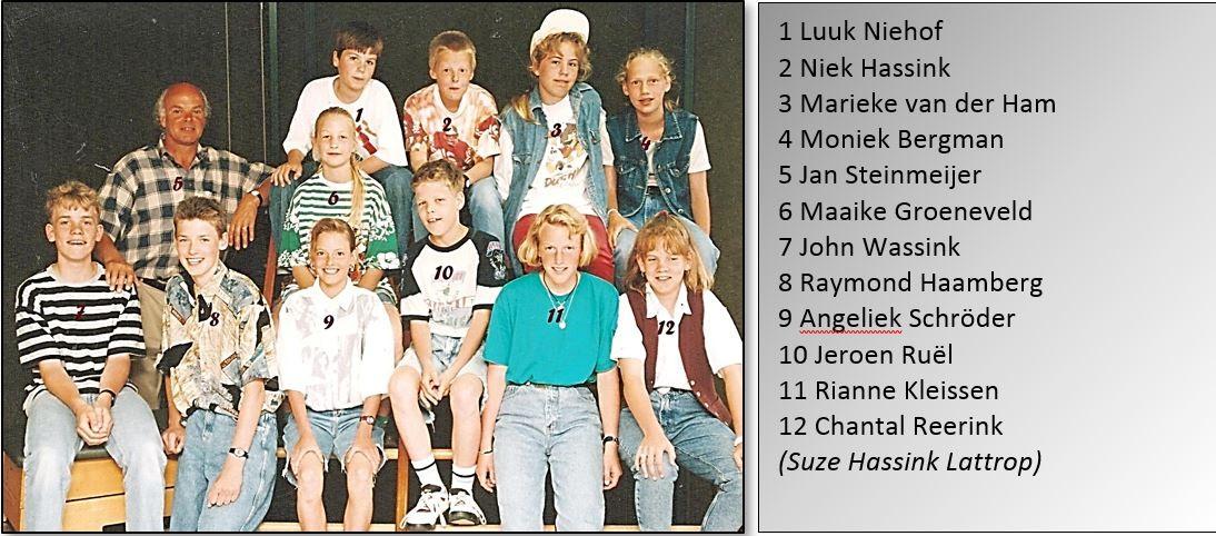 Schoolfoto Lattrop 1994