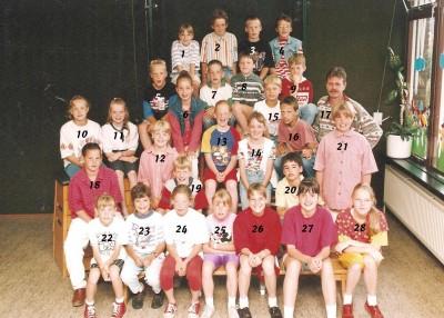 Schooljaar 1993-1994 groep 5 en 6