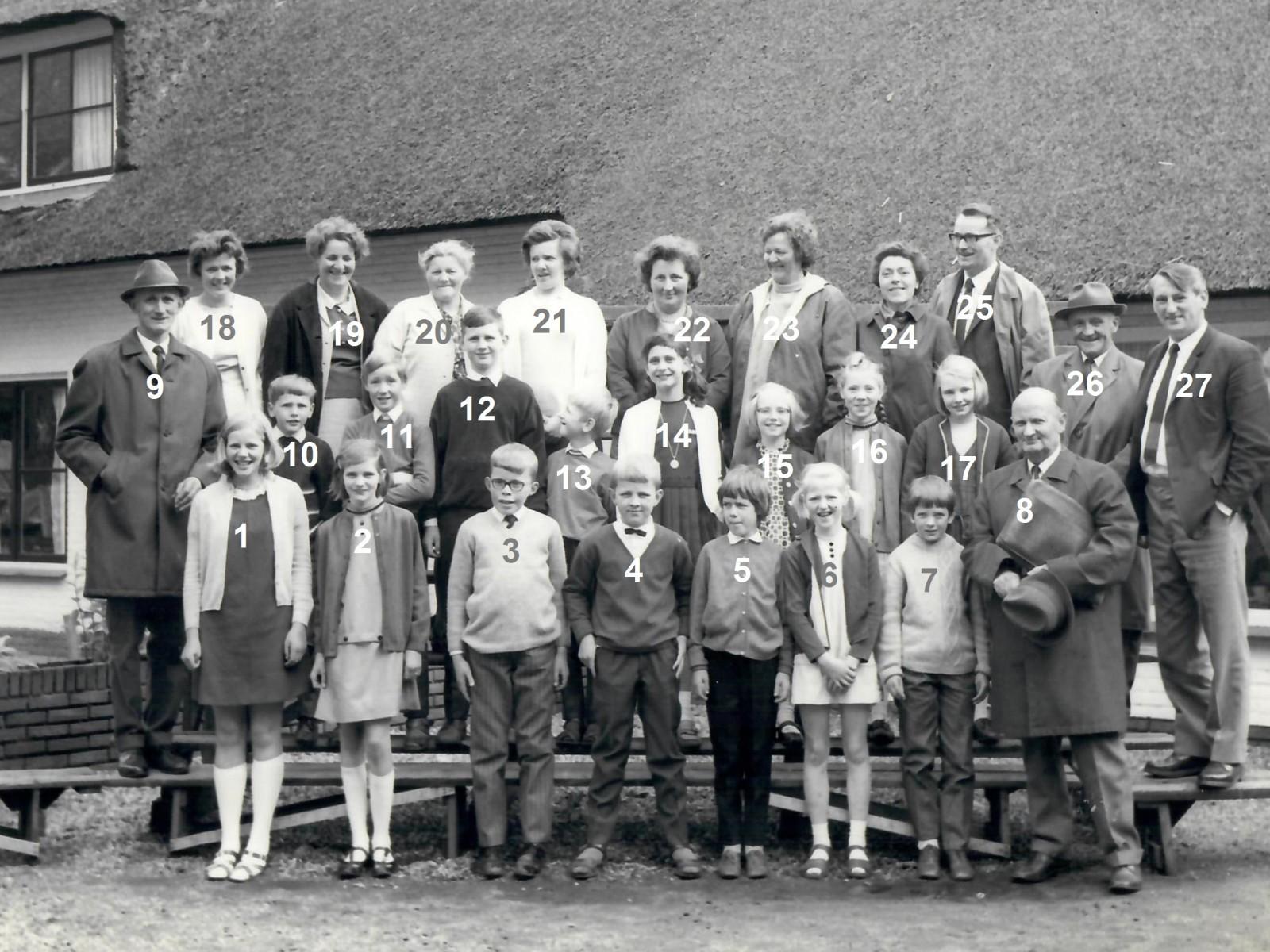 Schoolreisje Hellendoorn 5 juni 1969