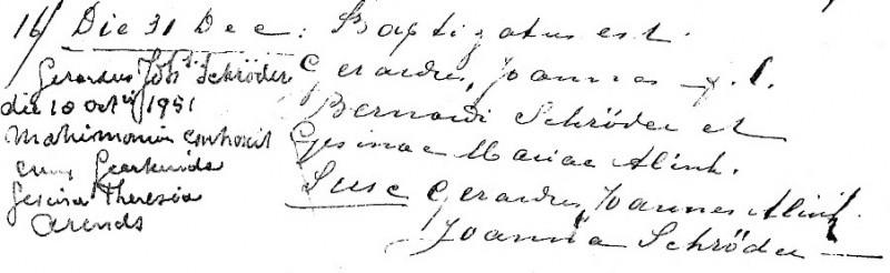 Schröder Gerardus Joannes zv Bernardus Schröder en Gesina Maria Alink Lattrop 31-12-1920