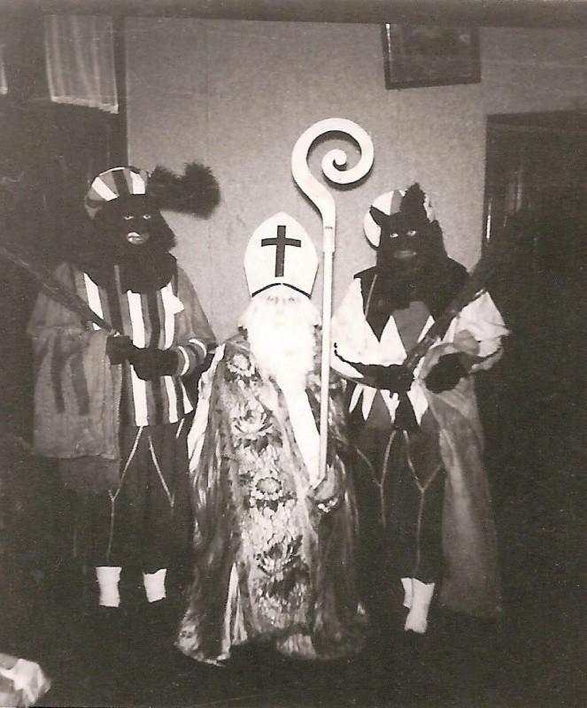 Sinterklaas met pieten bij Wiggerskuper Lattrop