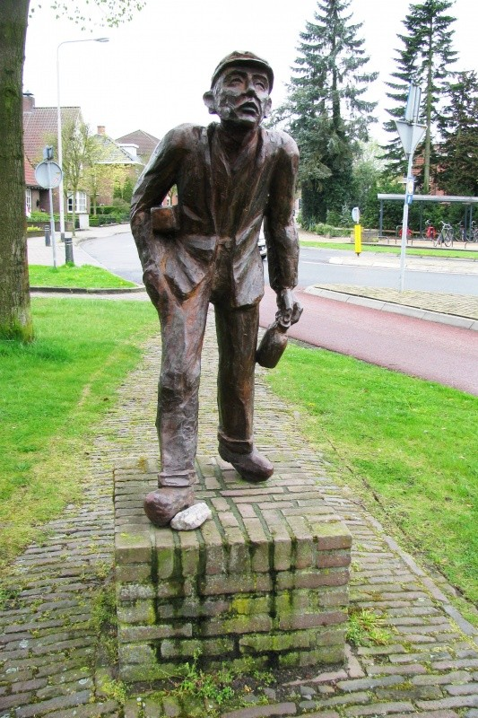 Standbeeld Gradus Wilbers (Hodden Gerrad) Ootmarsum