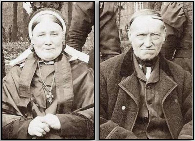 Berend Stokke en Joanna Roelink Lattrop