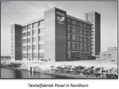 Textielfabriek Povel in Nordhorn