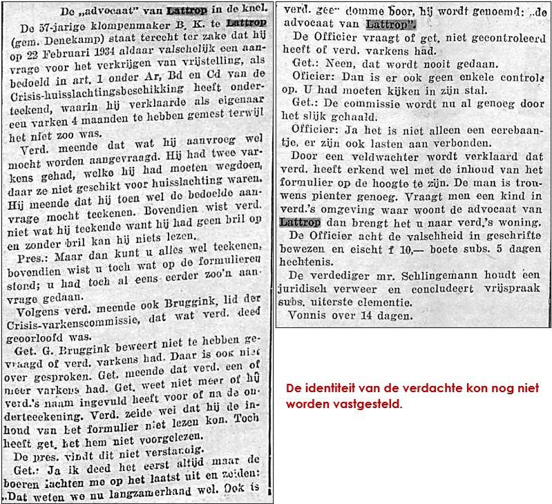 Uit het Overijsselsch dagblad van 31 mei 1934