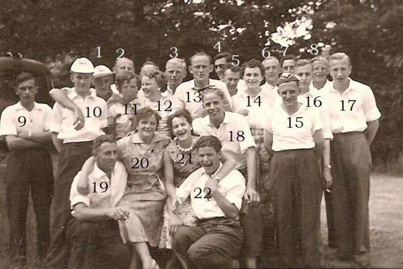 Uitstapje DURIDO 1957