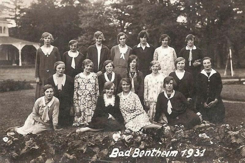 Uitstapje naar BadBentheim 1931