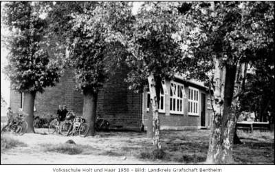 Volksschule Holt und Haar 1958