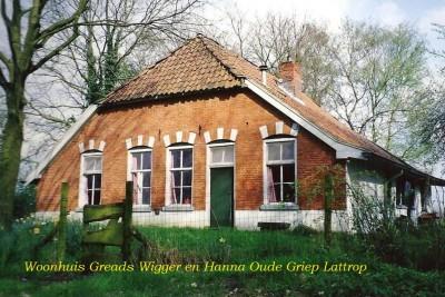 Voormalige woonhuis fam Greads Wigger en Hanna Oude Griep Lattrop - kopie