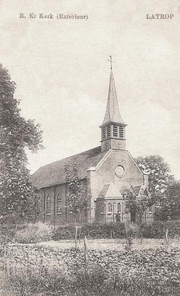 Oude Waterstaatskerk in Lattrop 1819-1925