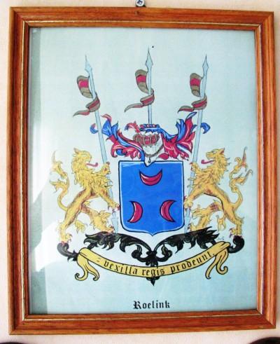 Wapenschild familie Roelink  Lattrop