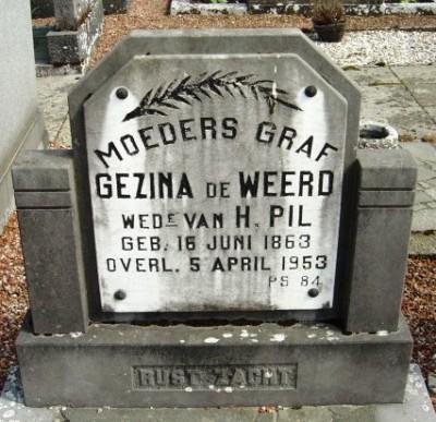 Weerd-de Gezina 1863-1953